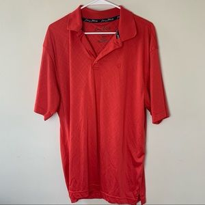 George Straight Red Polo